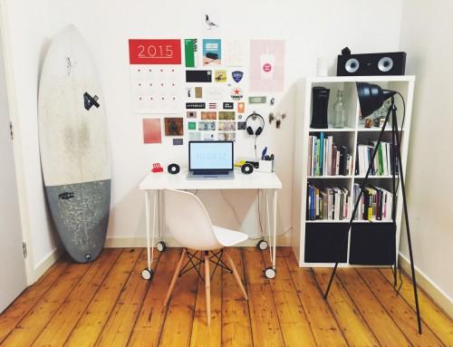 L'importance d'un espace de travail rangé